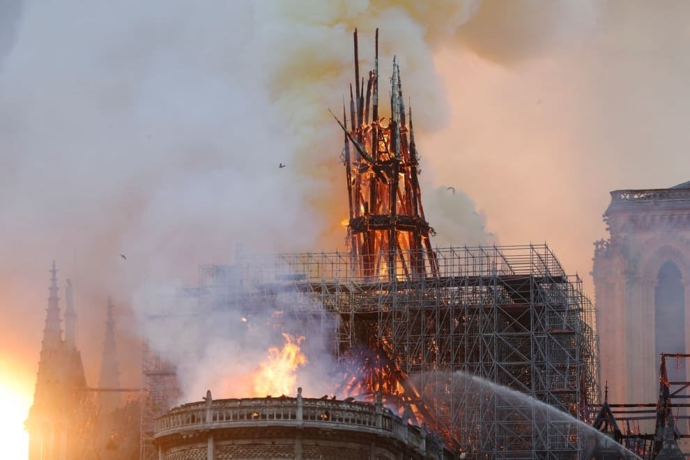 Notre Dame, Cathedral, Paris, Fire, News Mobile, News Mobile India
