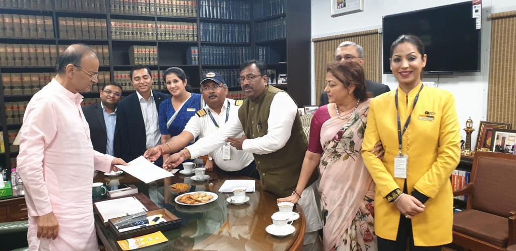Jet Airways, Arun Jaitley, Vinay Dube, News Mobile, News Mobile India
