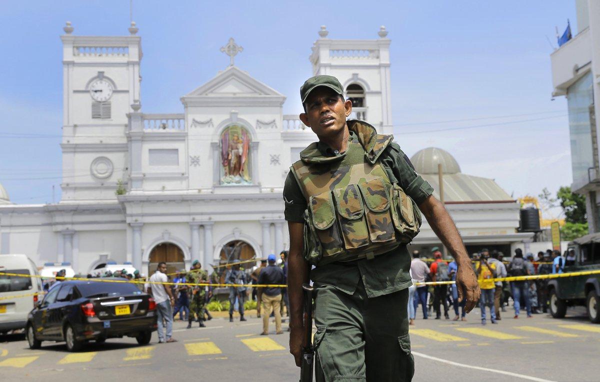 Sri Lanka Terror Attack, CCTV Footage,Easter Sunday, ISIS, News Mobile, News Mobile India