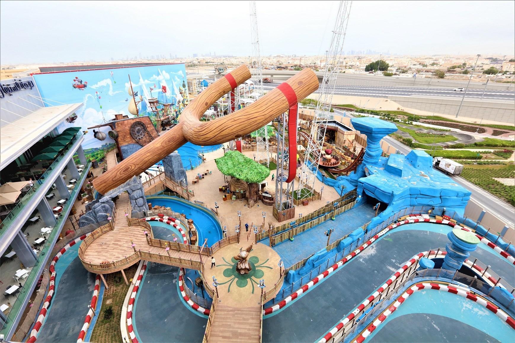 Doha, Qatar, Angry Birds park, theme park, tourism, holidays, family holidays, India, NewsMobile