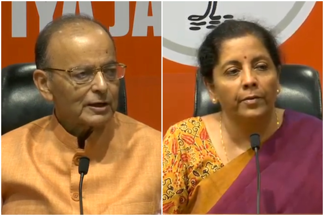 Finance Minister Arun Jaitley, Defence Minister Nirmala Sitharaman, Masood Azhar, Global Terrorist, Pulwama Attack, News Mobile, News Mobile India