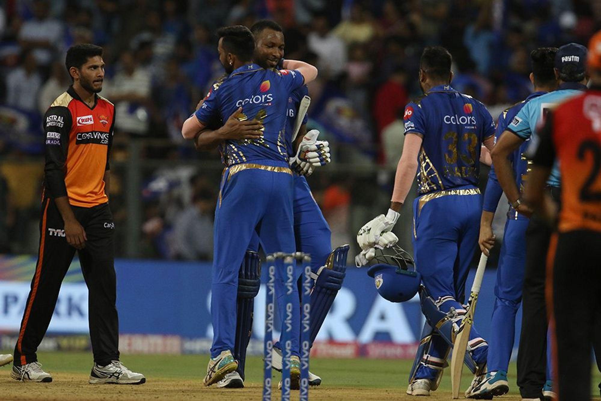Mumbai Indians, Sunrisers Hyderabad, MI, SRH, Rohit Sharma, NewsMobile, Sports, Cricket, IPL, 2019, Mobile, News, India