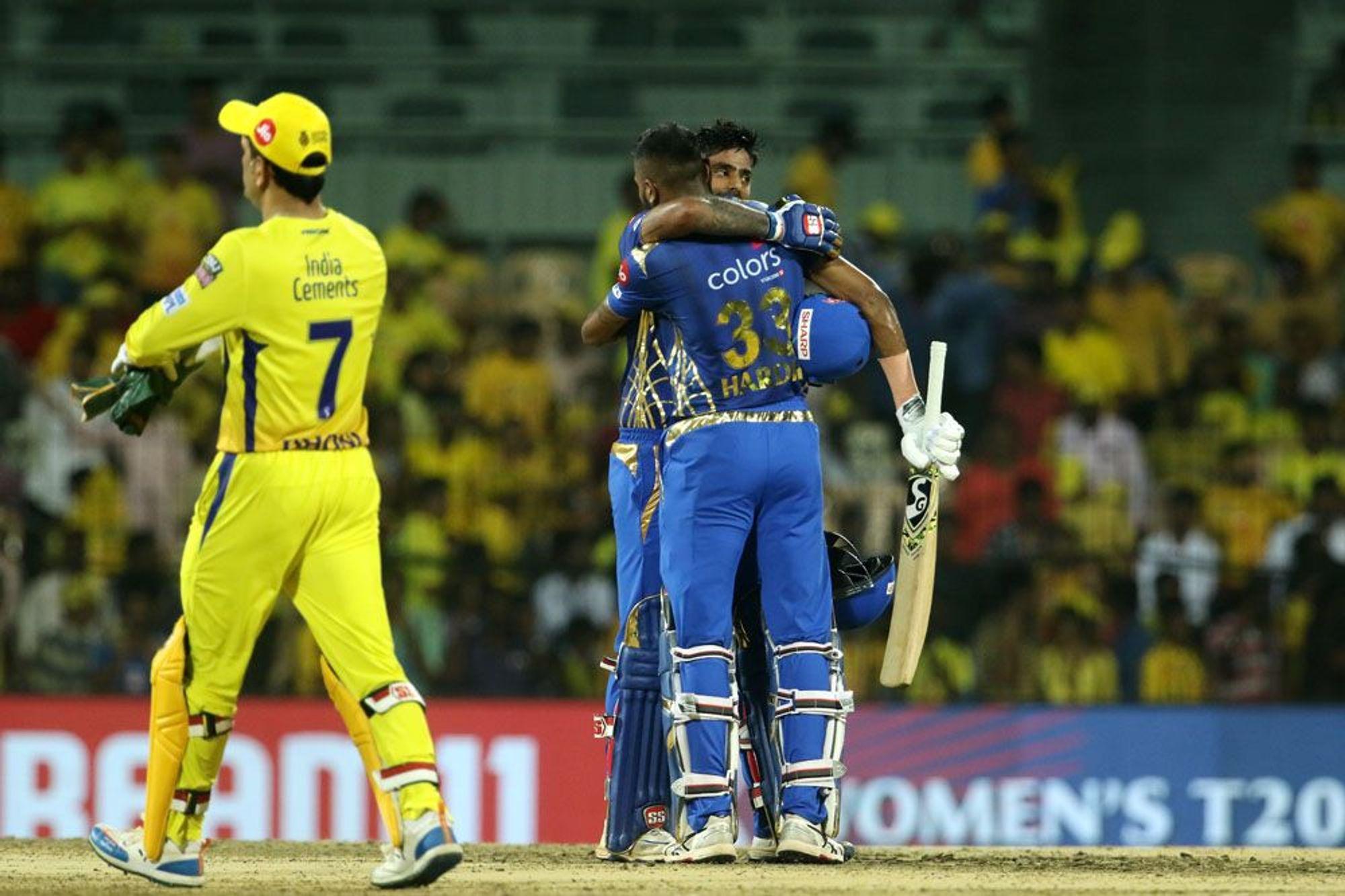 Mumbai Indians, Chennai Super Kings, IPL, MI, CSK, Sports, IPL, 2019, NewsMobile, Mobile, News, India, Cricket