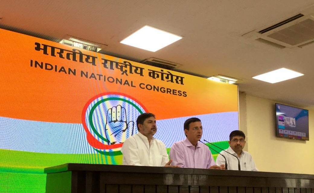 Election Commission of India, Randeep Singh Surjewala, Congress, PM Narendra Modi, Art 14 & 21, Lok Sabha Elections, 2019, News