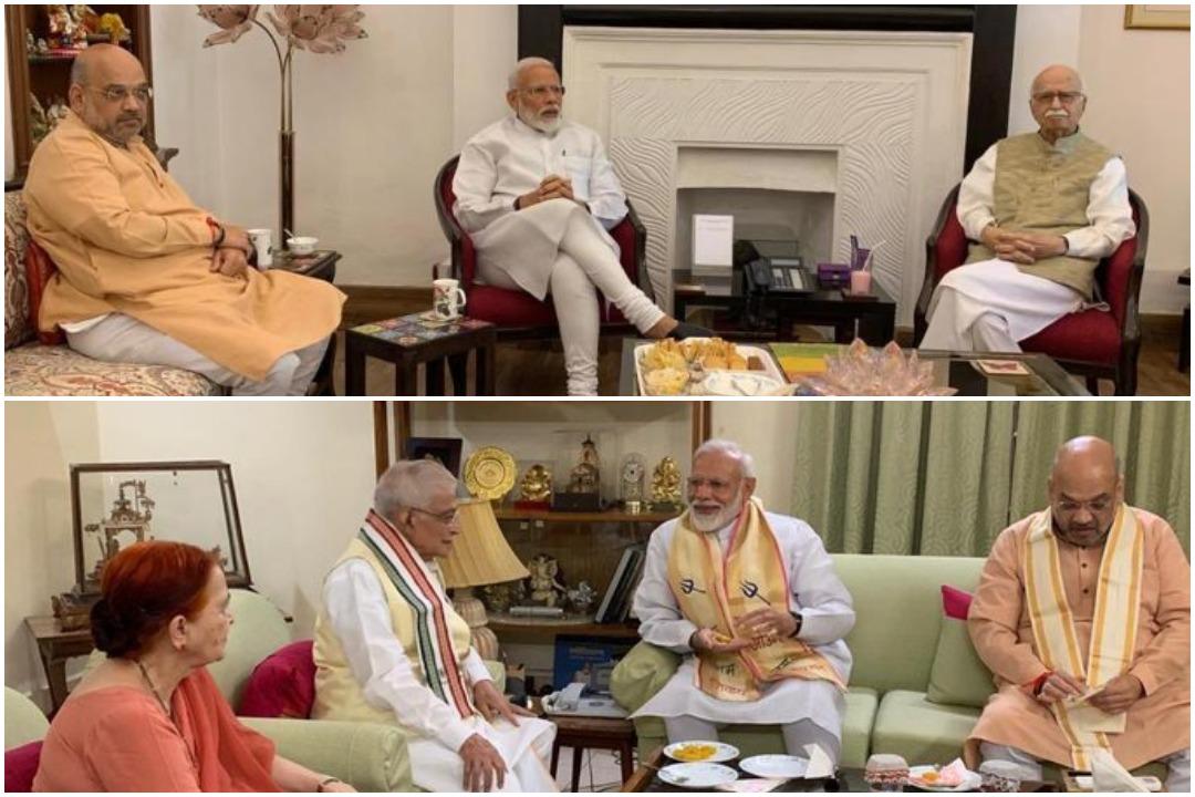 PM Narendra Modi, Amit Shah, Dr Murli Manohar Joshi, LK Advani, News Mobile, News Mobile India, Lok Sabha elections 2019