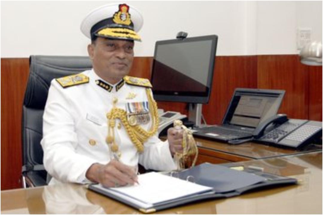 K Natarajan, Indian Coast Guard, Chief, News Mobile, News Mobile India