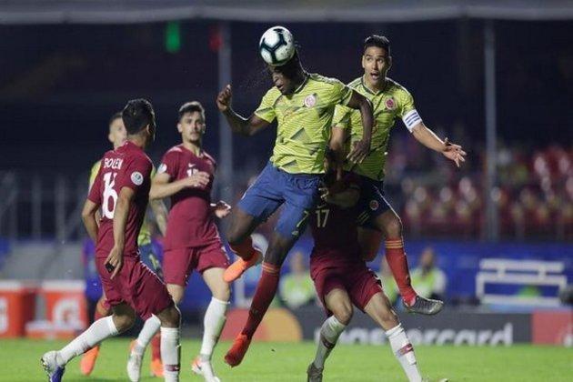 Colombia, defeats, Qatar, Morumbi stadium, Sports, football, Newsmobile, Mobile, News