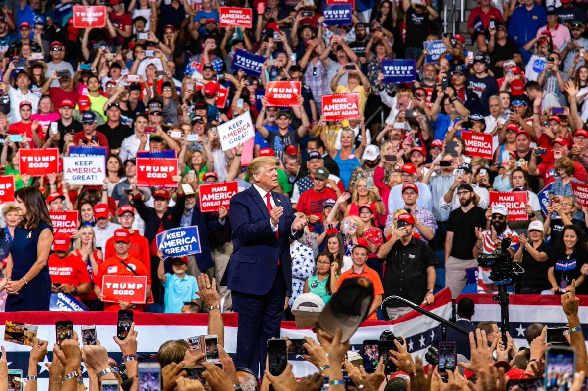 Donald Trump, announces, 2020, Presidential, campaign, Orlando, United States, Elections, NewsMobile, Mobile, News, India, World