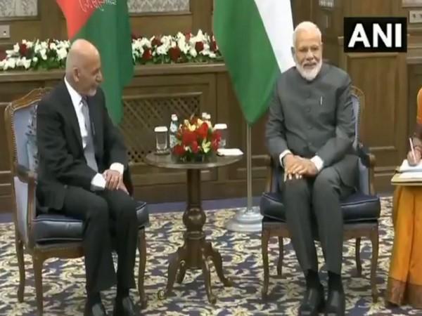 PM Narendra Modi, Afghanistan President Ashraf Ghani, SCO Summit, 2019, News Mobile, News Mobile India