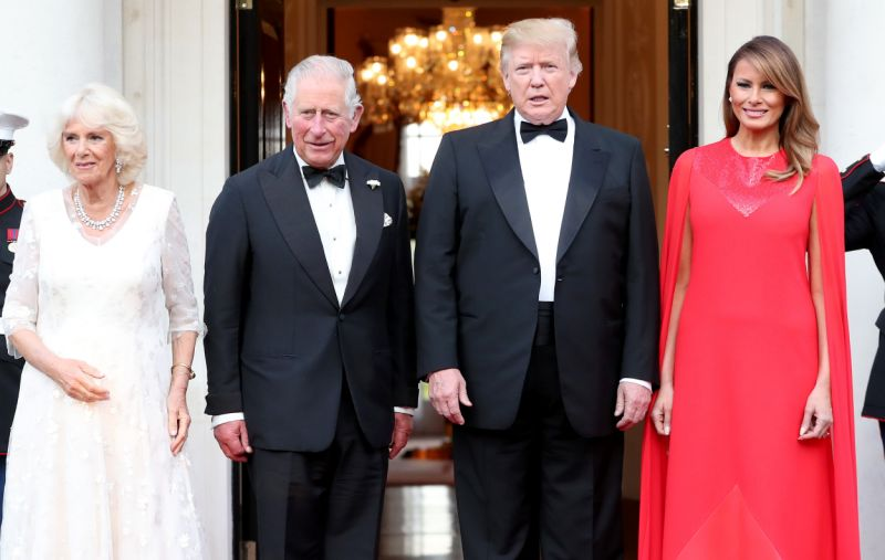 President Donald Trump, Prince of Whales, Prince Of Wales, News Mobile, News Mobile India