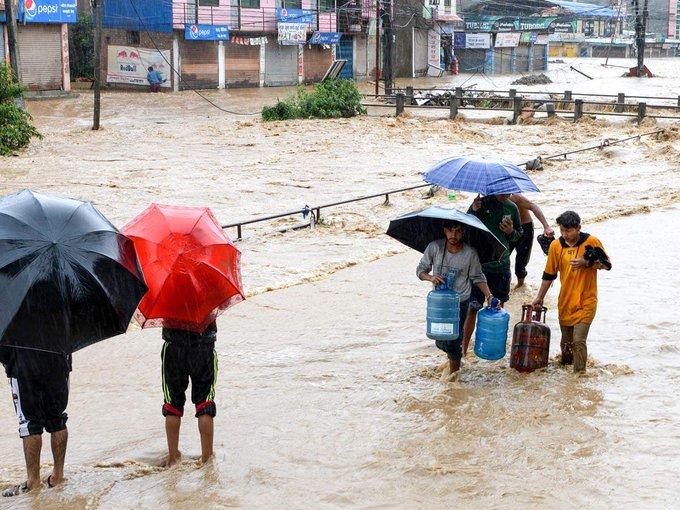 NepalFloods, BiharFloods, 65died, missingpeople, NewsMobile, NewsMobileIndia