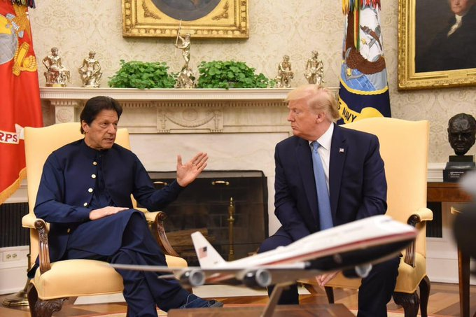 US Prez Donald Trump, Pakistan prime Minister Imran Khan, Prime Minister Narendra Modi, India, Pakistan, United Sates, Ministry Of External Affairs, News Mobile, News Mobile India