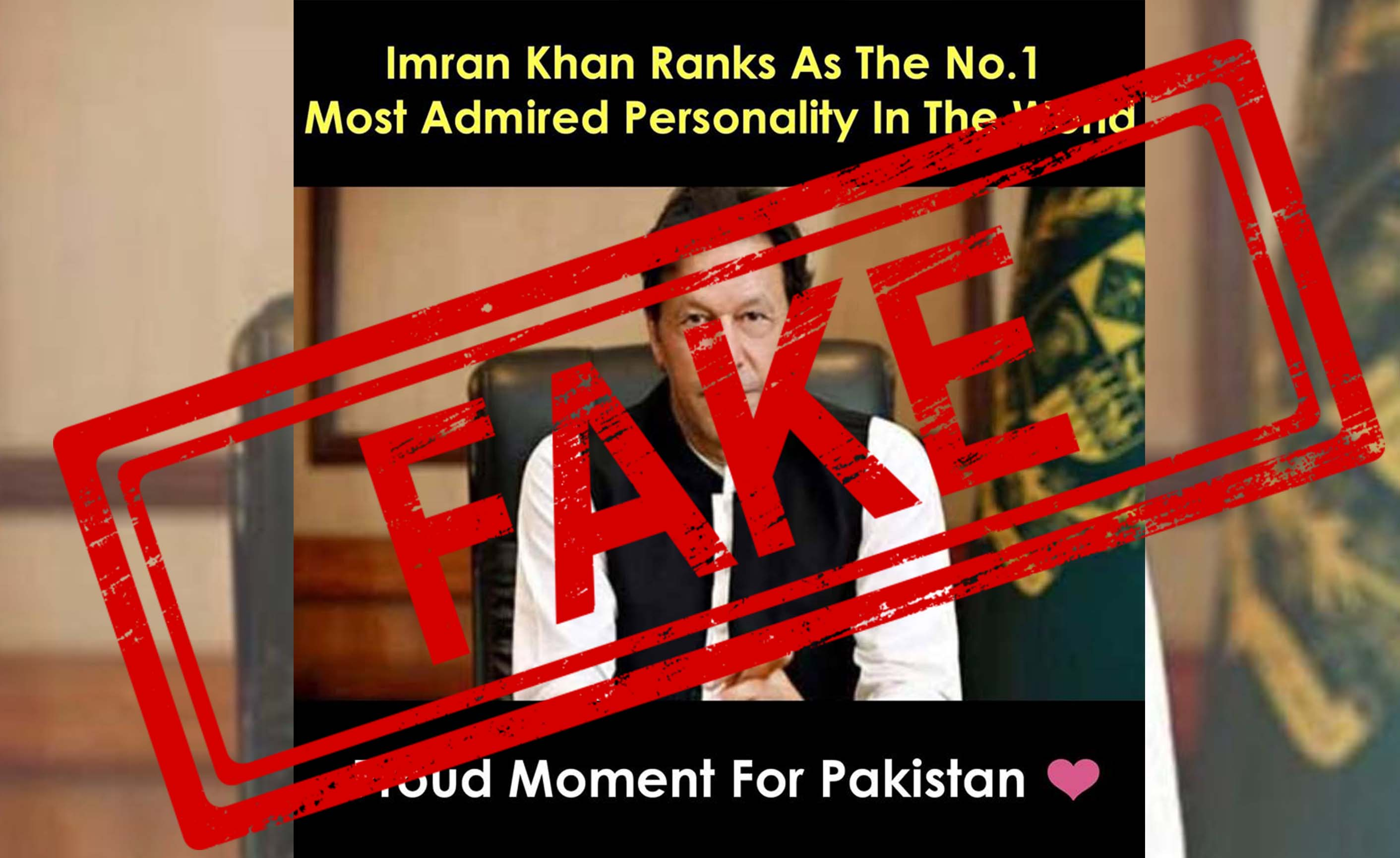 Imran Khan, Pakistan, Prime Minister, Rank, Number 1, most, Admired, List, Narendra Modi, NewsMobile, Mobile, news, India, Fact Check, FactChecker, Fake