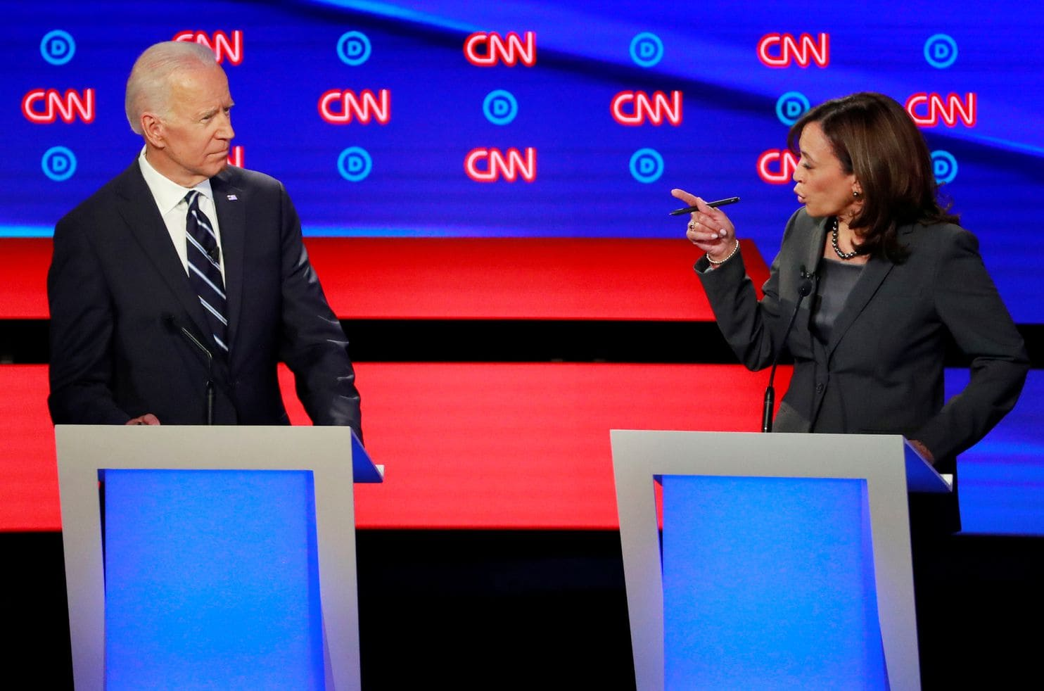 Joe Biden, Kamala Harris, Democratic, Debate, Presidential, NewsMobile, Mobile, News, India. World, Donald Trump, United States, World