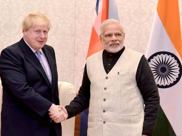 PM, Narendra Modi, Boris Johnson, United Kingdoms, UK, British, Prime Minister, India, NewsMobile, Mobile, News, Kashmir