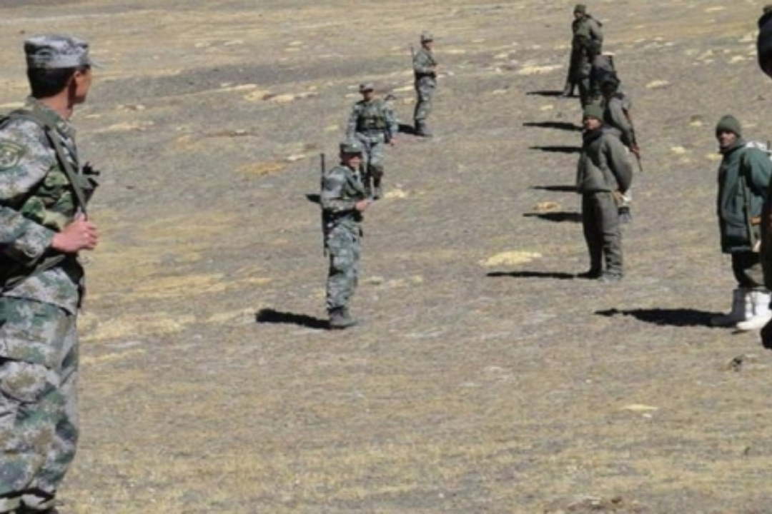 Area of standoff between Indian and PLA troops in Ladakh part of ...