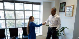 Barack Obama, Greta Thunberg, Climate, Activist, NewsMobile, Mobile, News, India, United States