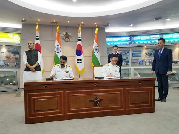 India, South Korea, Defence Minister Rajnath Singh