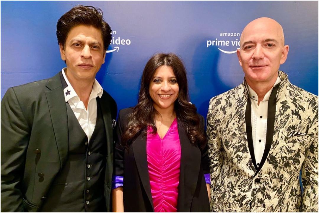 Amazon founder Jeff Bezos, Shah Rukh Khan, Zoya Akhtar, NewsMobile, NewsMobile India