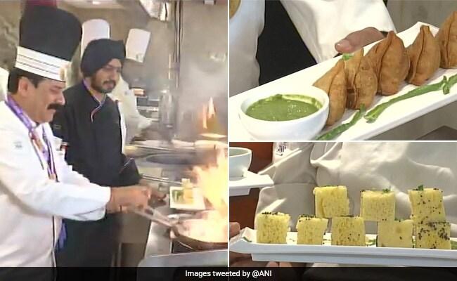 President Trump, US First Lady, India, US, Trump Visits India, NewsMobile, NewsMobile India, Ahemdabad, Gujarat, Food