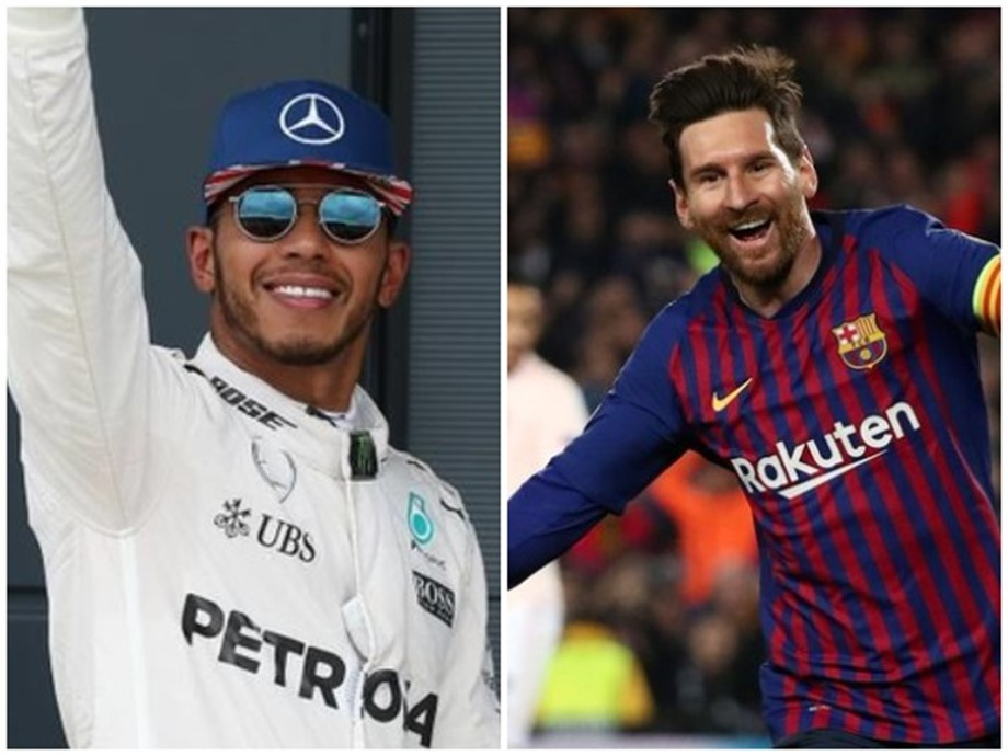 Lionel Messi, Lewis Hamilton, Rafael Nadal, Marc Marquez, Tiger Woods,Eliud Kipchoge, Laureus World Sportsman, NewsMobile, NewsMobile India