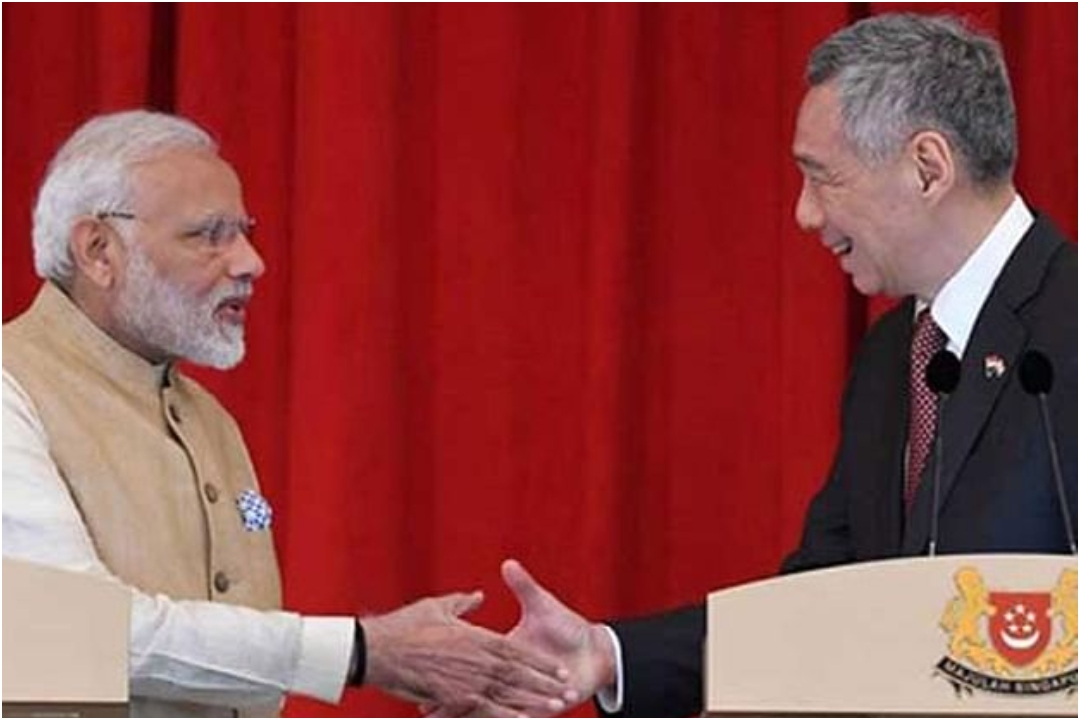 Prime Minister Narendra Modi, Singaporean PM Lee Hsien Loong, COVID-19, News, Mobile, NewsMobile India