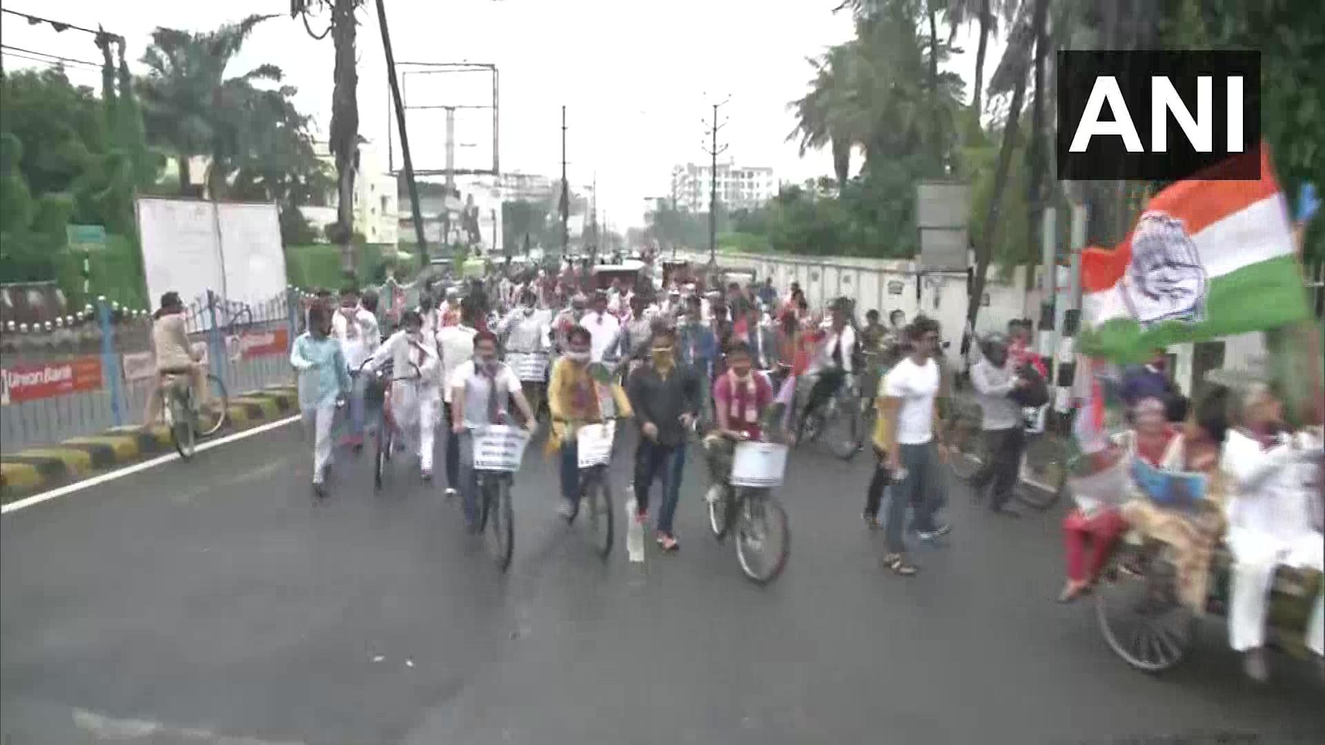 Patna fuel protest