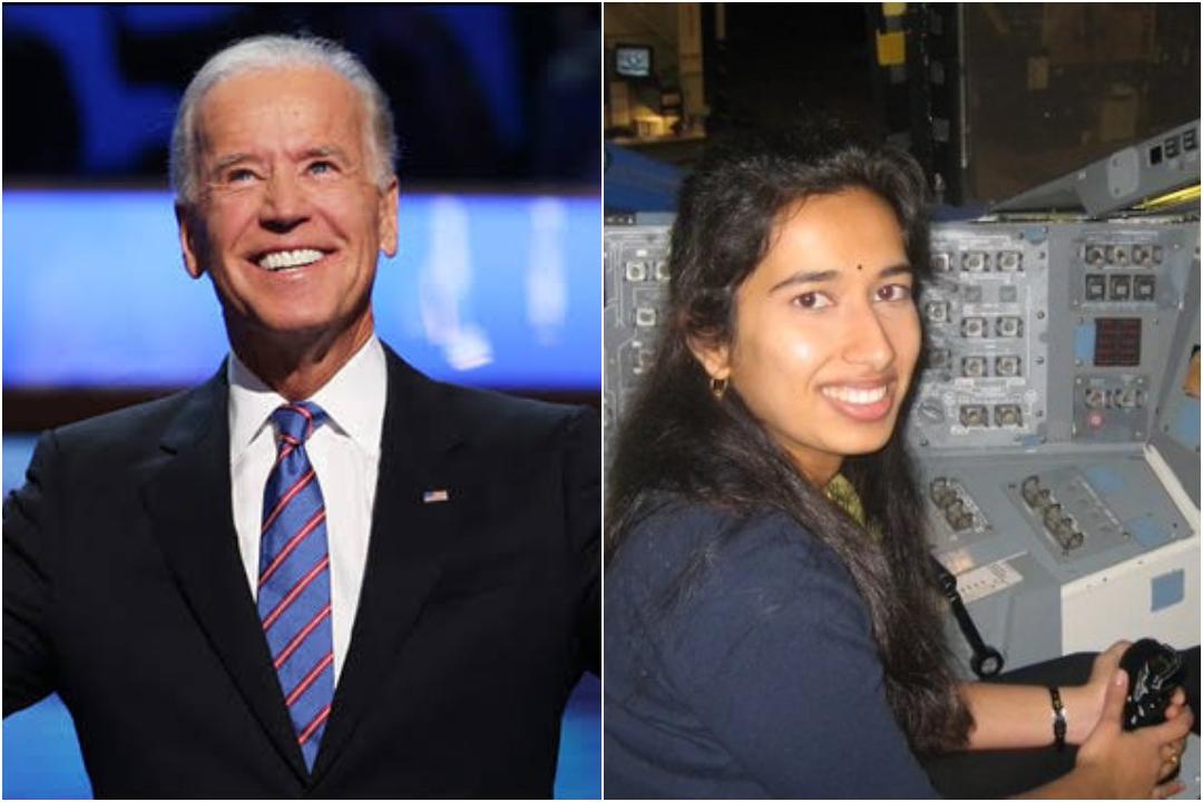 Joe Biden, Swati Mohan