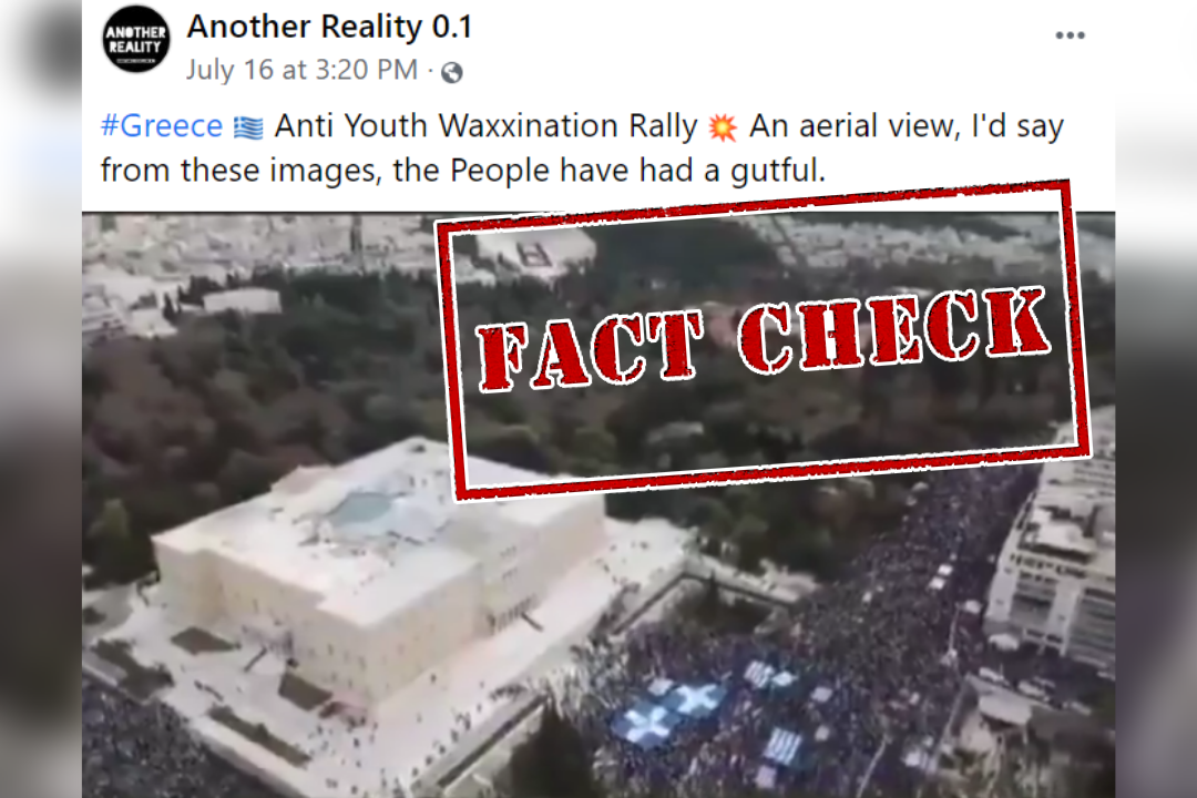 Fact Check: Old Video From 2019 Viral As Recent Anti-Vaccine Protests In Greece