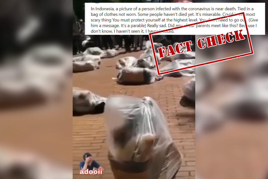 Fact Check: Video Of Performance In Colombia Shared As That Of Coronavirus Victims In Indonesia