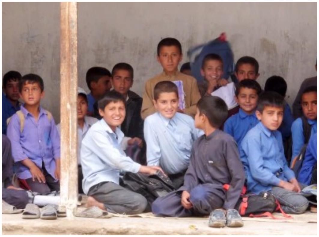 Kids, School, Afghanistan