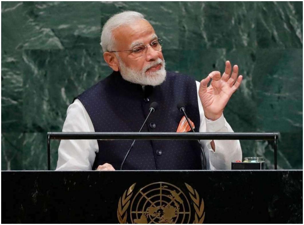 PM Modi, UNGA